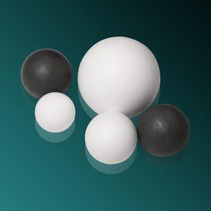 Фторопластовые шарики